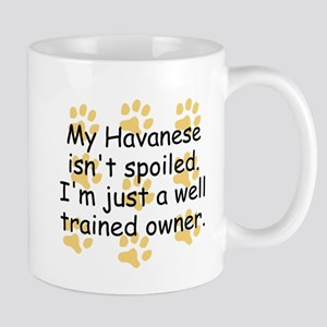 Well Trained Havanese Owner Mugs